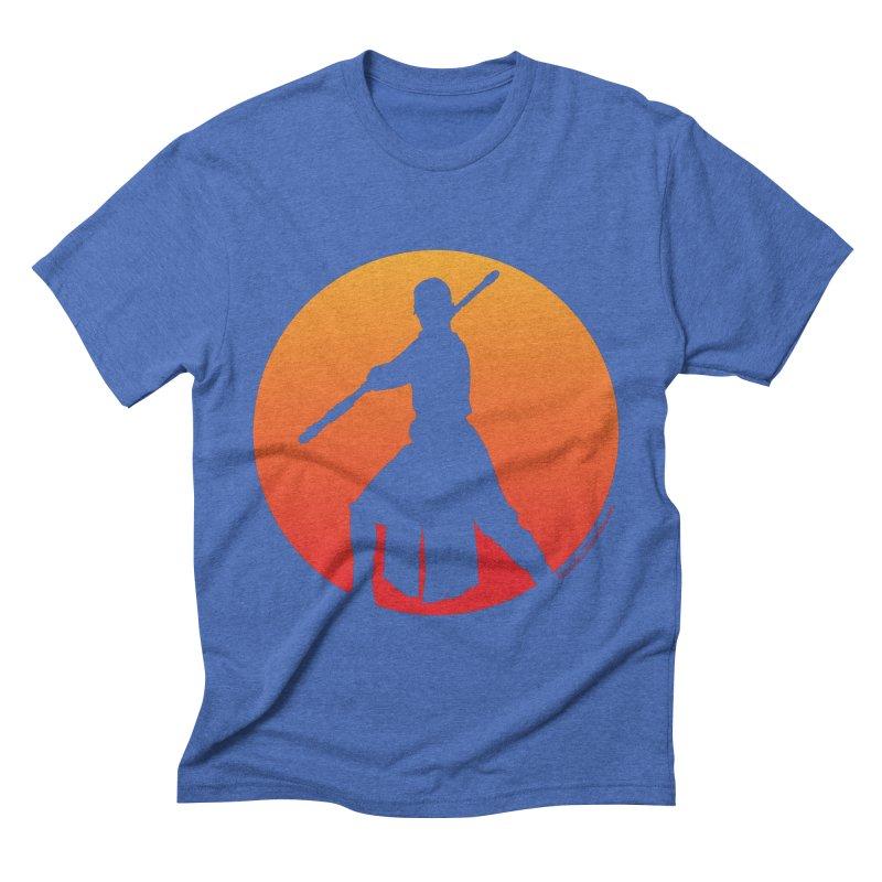 Awaken Men's Triblend T-shirt by FloresArts