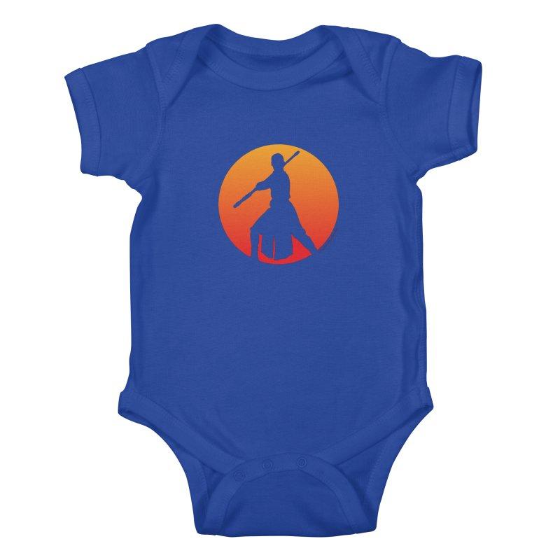 Awaken Kids Baby Bodysuit by FloresArts