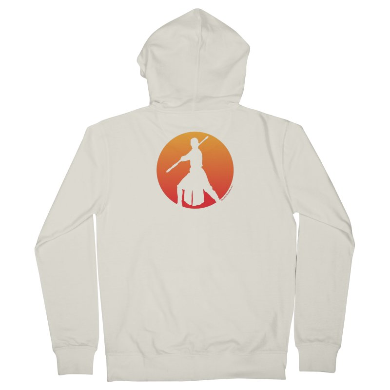 Awaken Women's Zip-Up Hoody by FloresArts