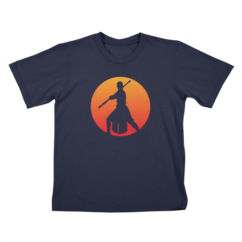 Awaken Kids T-Shirt by FloresArts