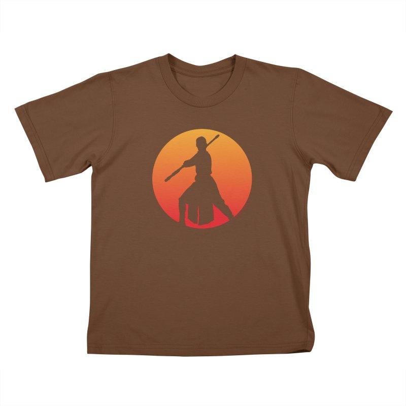 Awaken Kids T-Shirt by FloresArts