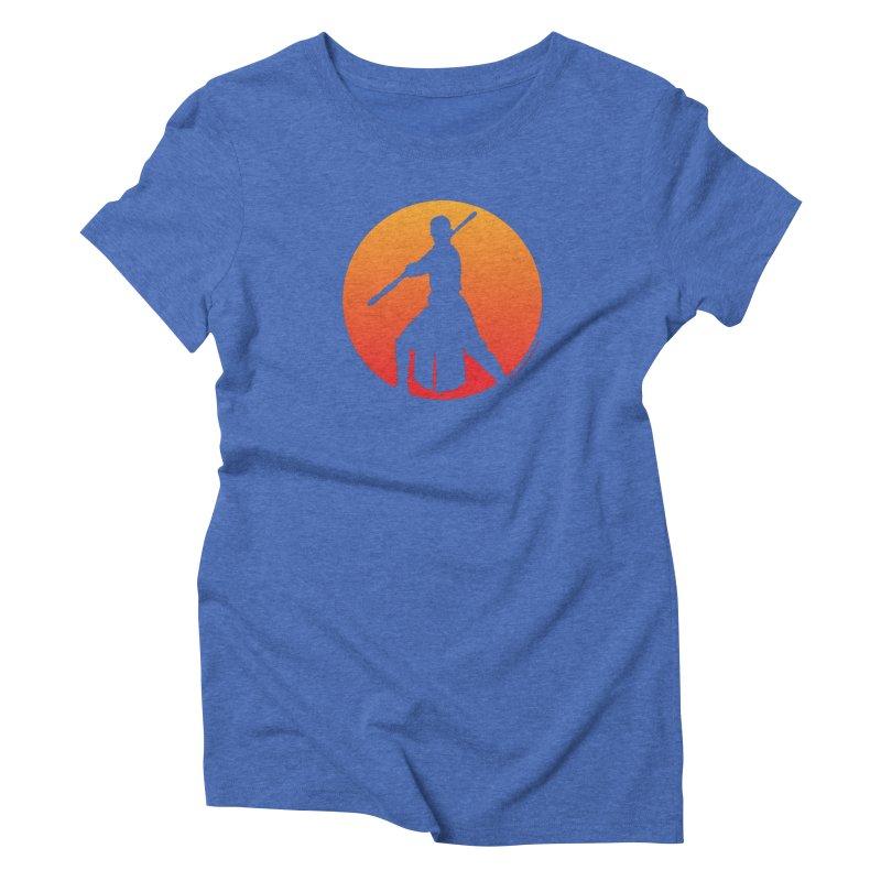 Awaken Women's Triblend T-Shirt by FloresArts