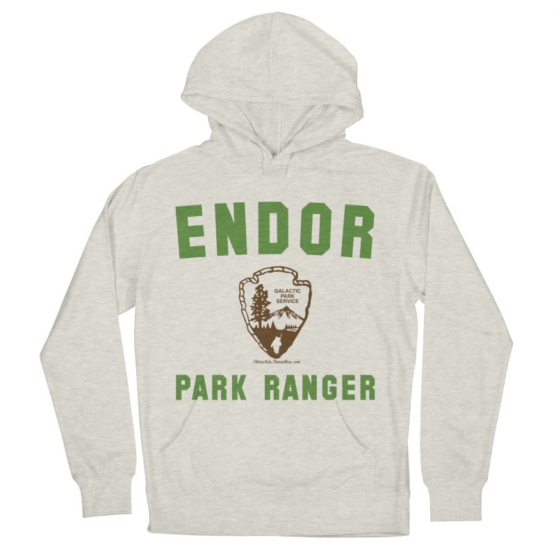 Endor Park Ranger Women's French Terry Pullover Hoody by FloresArts