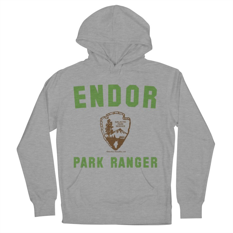 Endor Park Ranger Men's Pullover Hoody by FloresArts