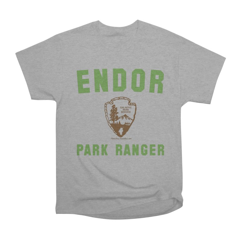 Endor Park Ranger Women's Heavyweight Unisex T-Shirt by FloresArts