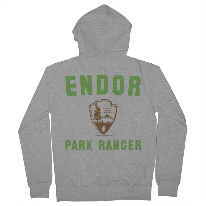 Endor Park Ranger Men's Zip-Up Hoody by FloresArts