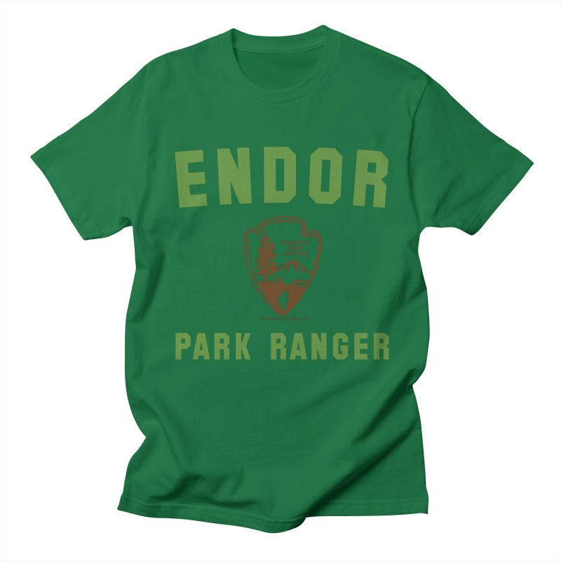 Endor Park Ranger Women's Regular Unisex T-Shirt by FloresArts