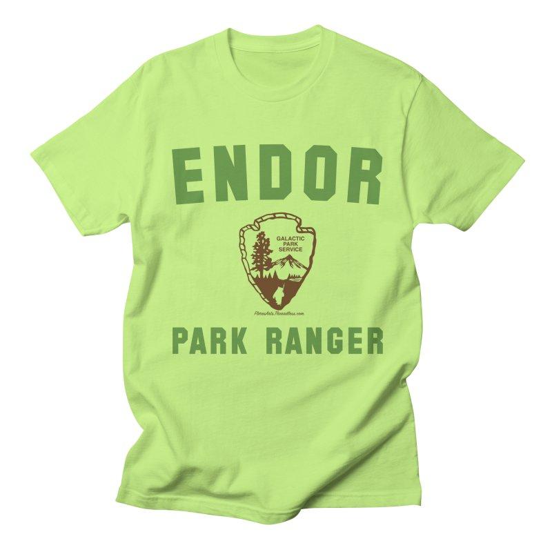 Endor Park Ranger Women's Regular Unisex T-Shirt by FloresArts