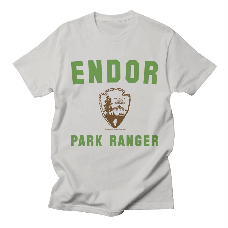 Endor Park Ranger Men's T-shirt by FloresArts