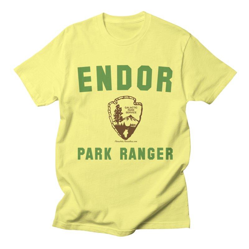Endor Park Ranger Men's T-shirt by FloresArts