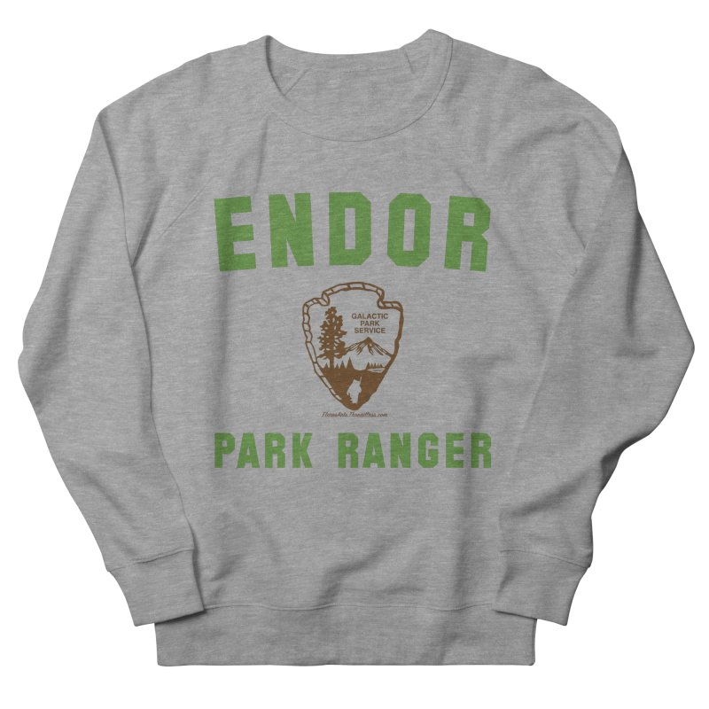 Endor Park Ranger Women's French Terry Sweatshirt by FloresArts