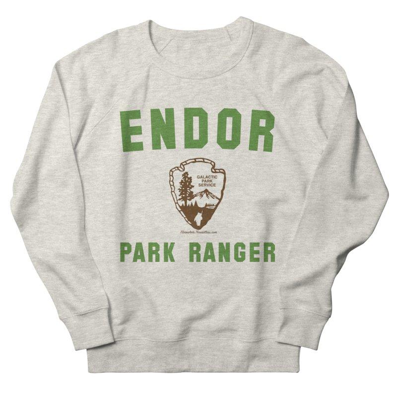 Endor Park Ranger Men's French Terry Sweatshirt by FloresArts