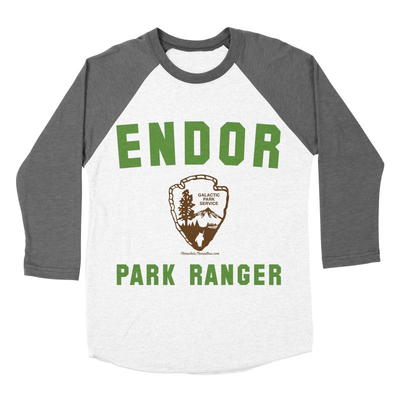 Endor Park Ranger Women's Baseball Triblend T-Shirt by FloresArts