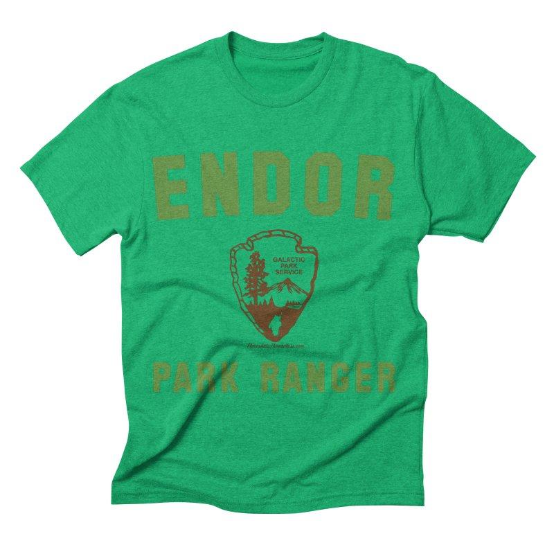 Endor Park Ranger Men's Triblend T-shirt by FloresArts