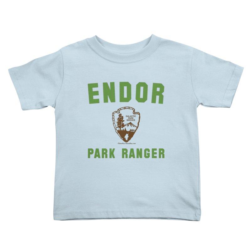 Endor Park Ranger Kids Toddler T-Shirt by FloresArts