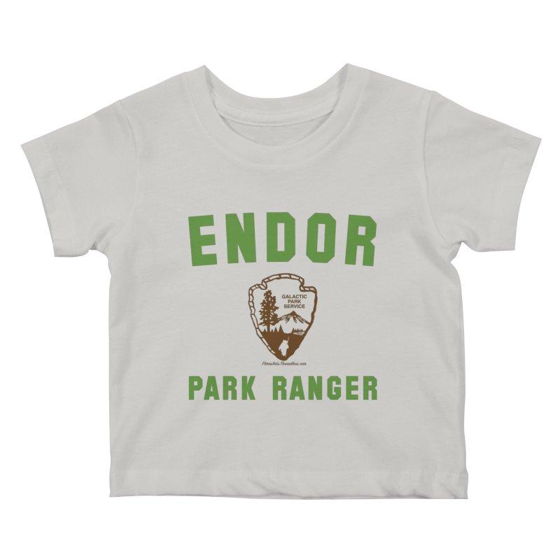 Endor Park Ranger Kids Baby T-Shirt by FloresArts