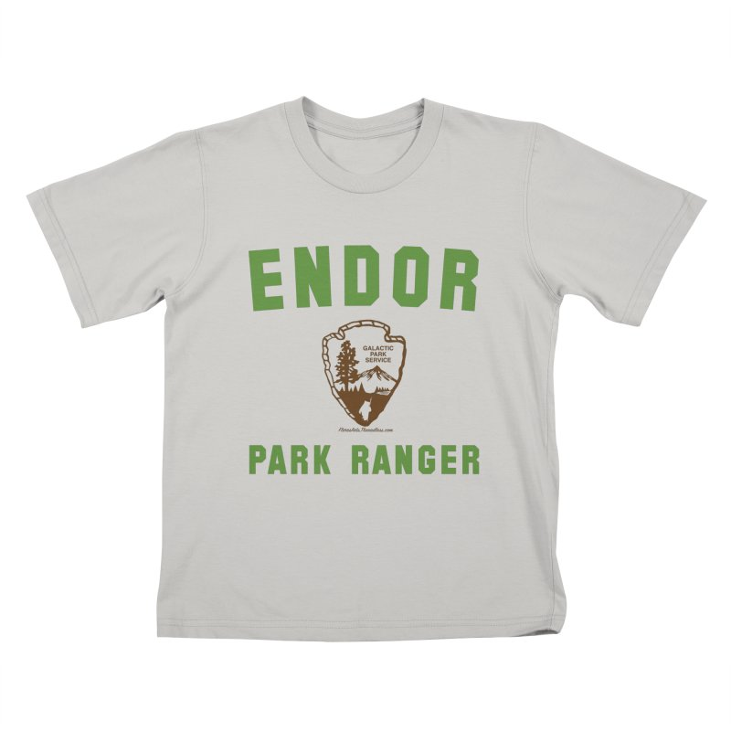 Endor Park Ranger Kids T-Shirt by FloresArts
