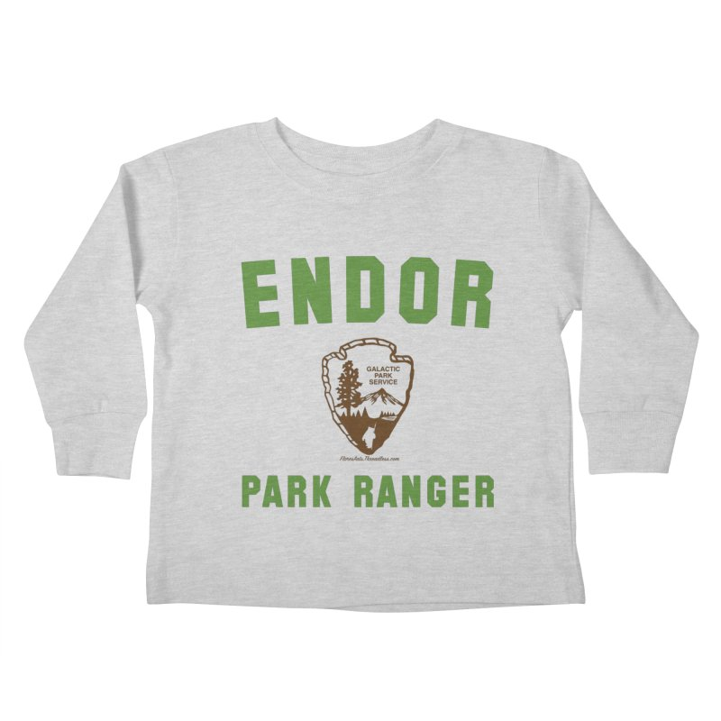 Endor Park Ranger Kids Toddler Longsleeve T-Shirt by FloresArts