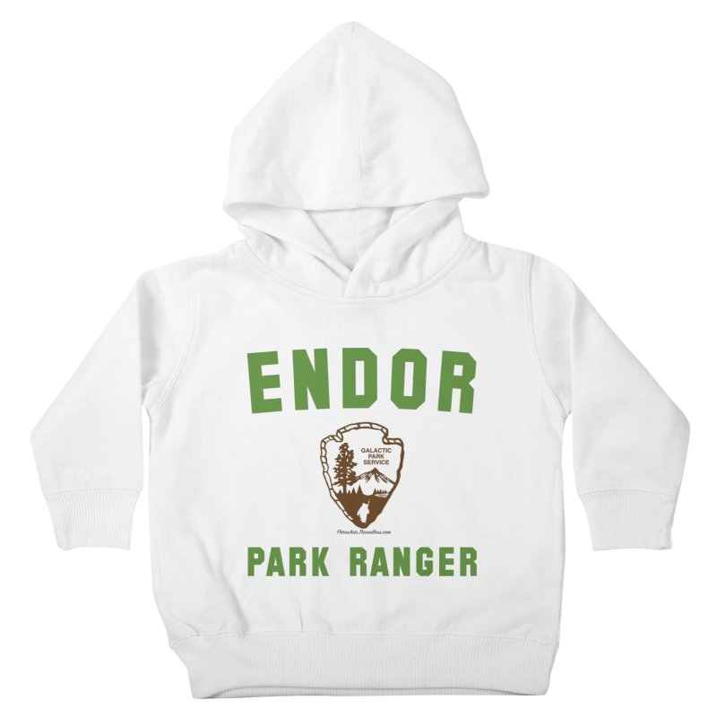Endor Park Ranger Kids Toddler Pullover Hoody by FloresArts