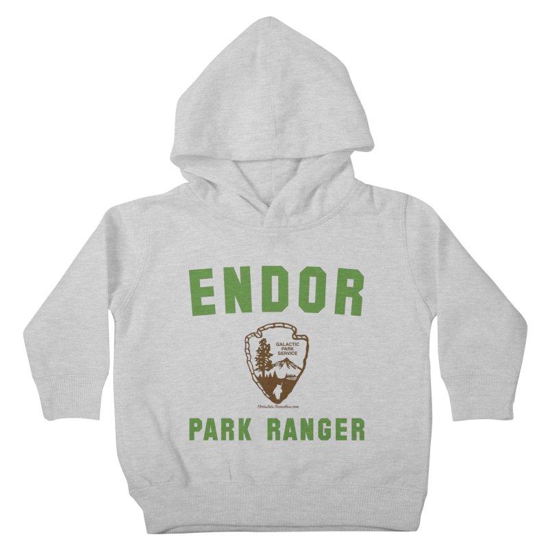 Endor Park Ranger Kids Toddler Pullover Hoody by FloresArts