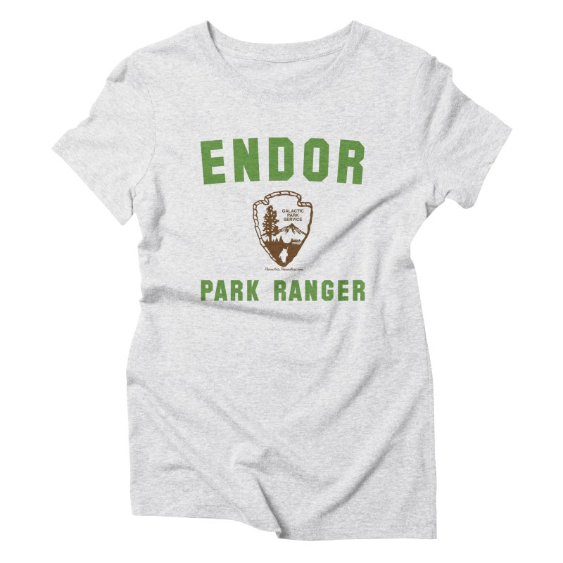 Endor Park Ranger Women's Triblend T-Shirt by FloresArts