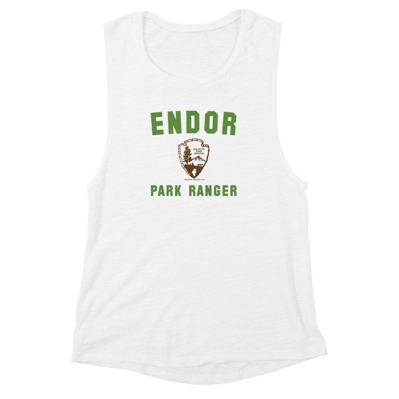 Endor Park Ranger Women's Muscle Tank by FloresArts