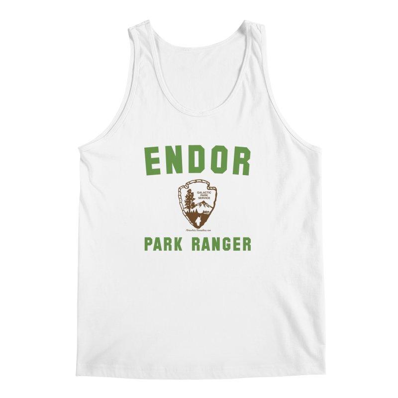 Endor Park Ranger Men's Tank by FloresArts