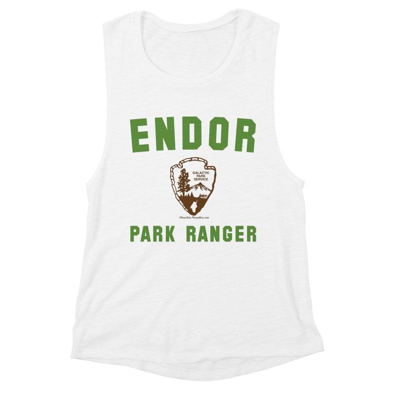 Endor Park Ranger Women's Muscle Tank by FloresArts