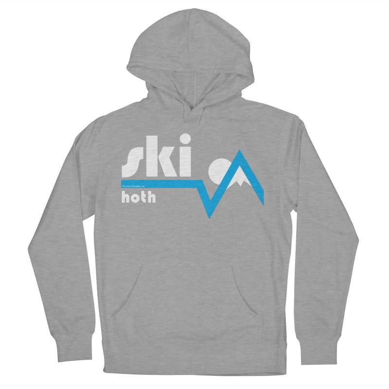 Ski Hoth Men's Pullover Hoody by FloresArts