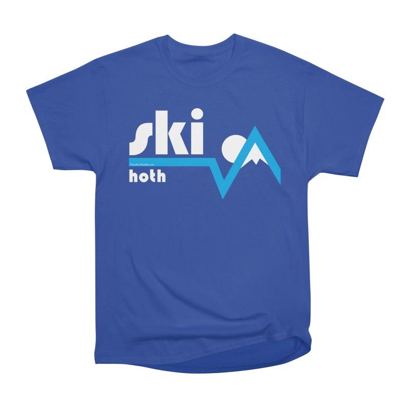 Ski Hoth Women's Classic Unisex T-Shirt by FloresArts