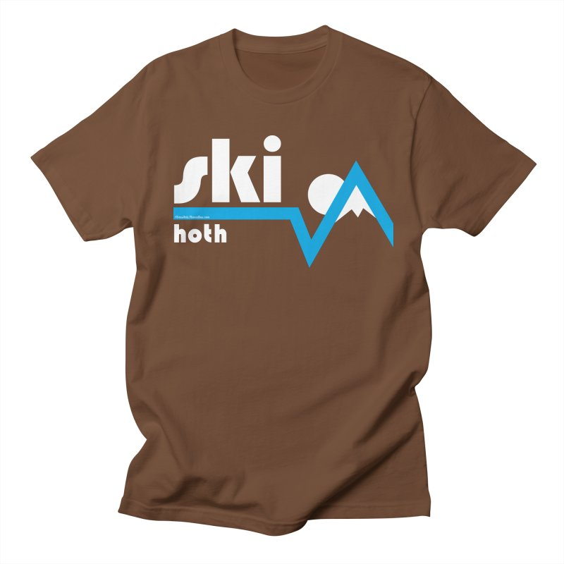 Ski Hoth Men's T-shirt by FloresArts