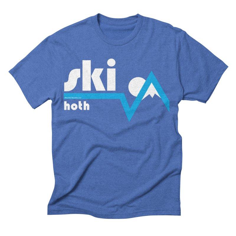 Ski Hoth Men's Triblend T-shirt by FloresArts