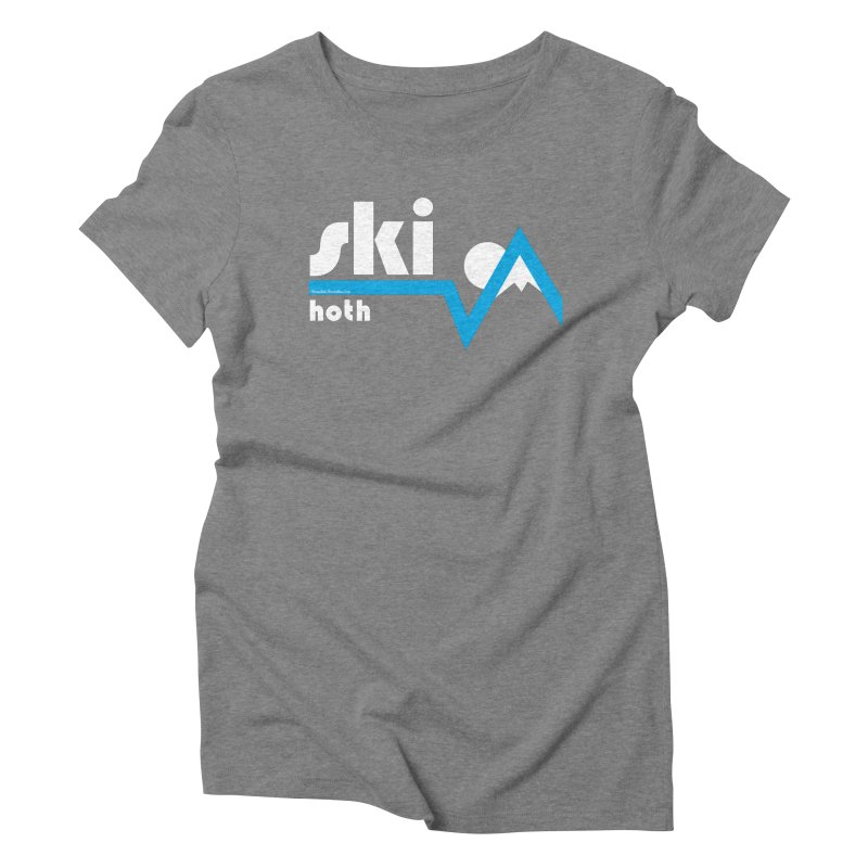 Ski Hoth Women's Triblend T-Shirt by FloresArts