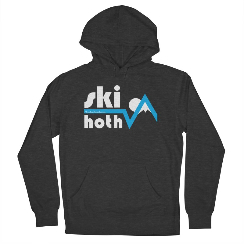 Ski Hoth Men's French Terry Pullover Hoody by FloresArts