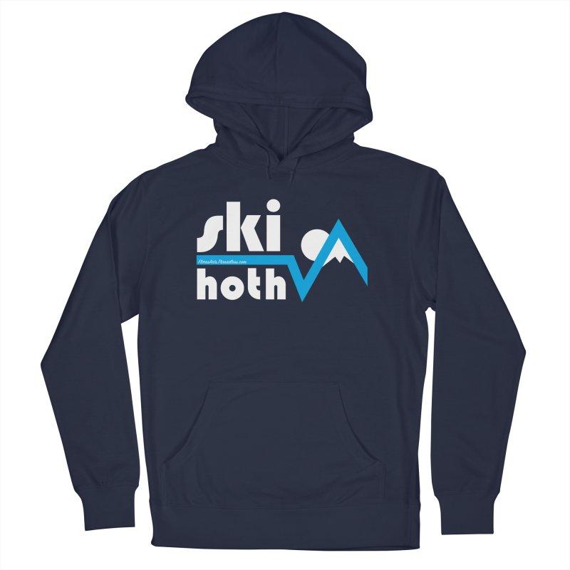 Ski Hoth Men's Pullover Hoody by FloresArts