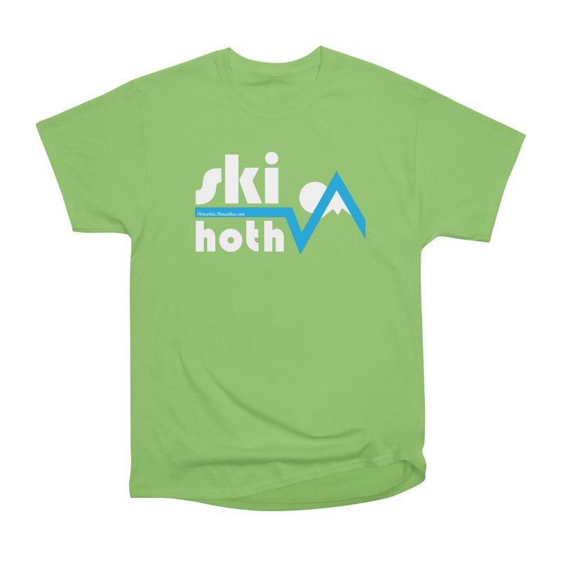 Ski Hoth Women's Heavyweight Unisex T-Shirt by FloresArts