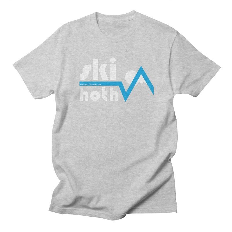 Ski Hoth Men's Regular T-Shirt by FloresArts