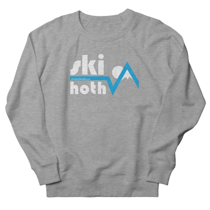 Ski Hoth Men's French Terry Sweatshirt by FloresArts