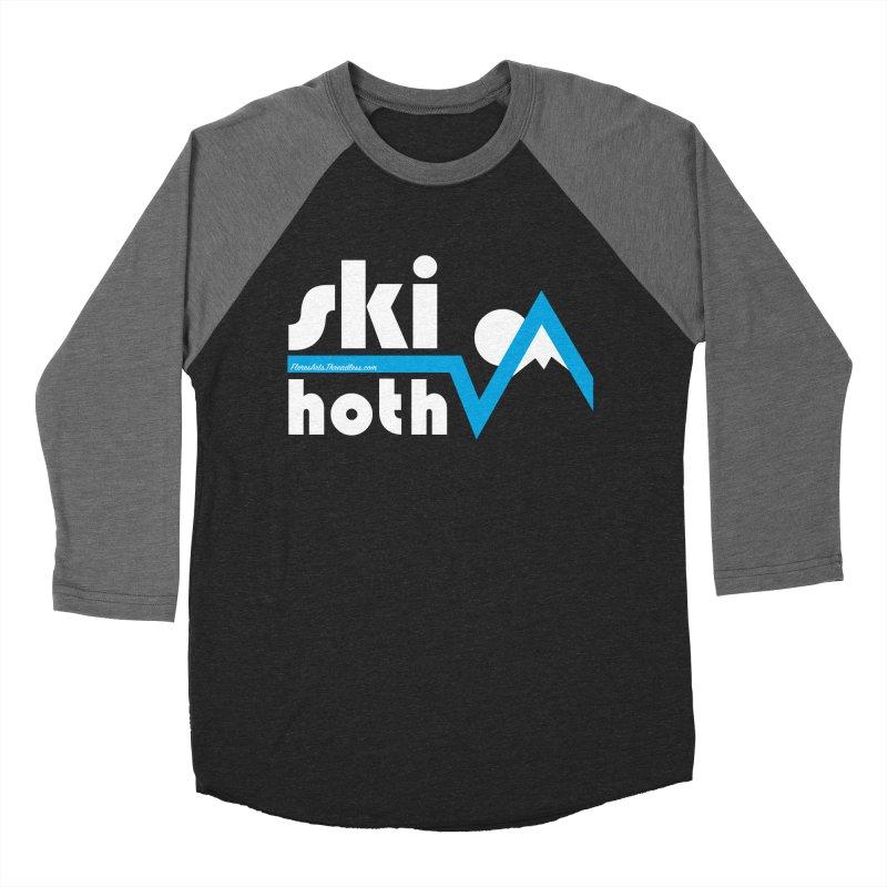 Ski Hoth Men's Baseball Triblend Longsleeve T-Shirt by FloresArts