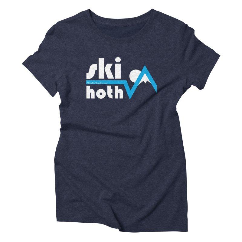 Ski Hoth Women's Triblend T-Shirt by FloresArts