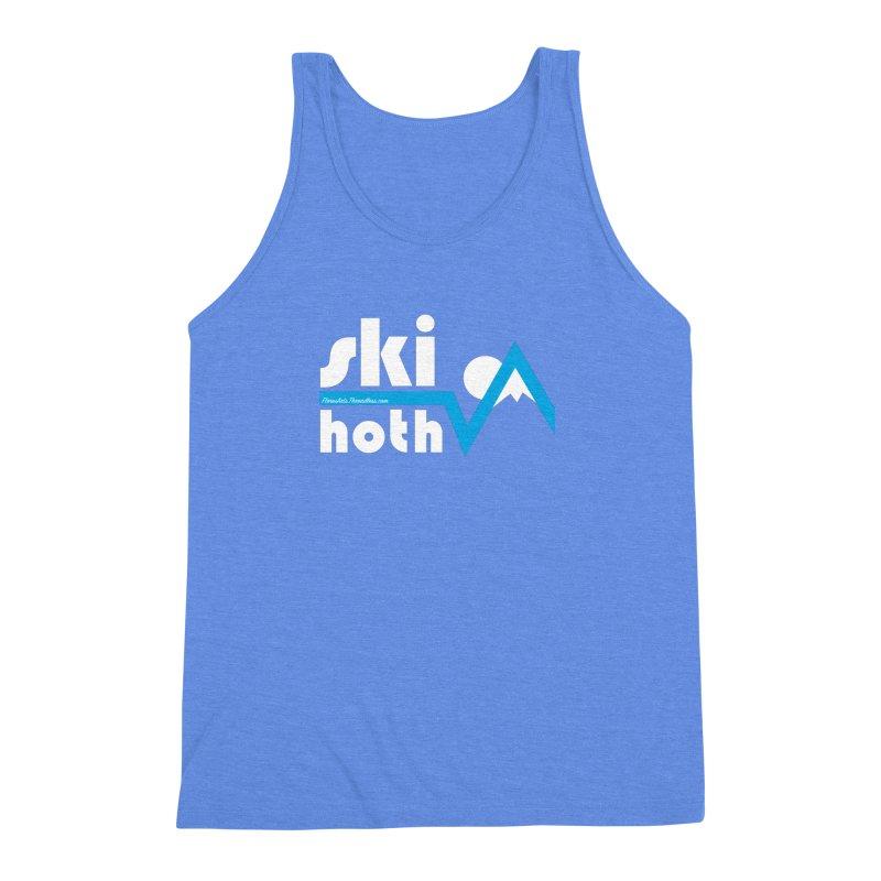 Ski Hoth Men's Triblend Tank by FloresArts