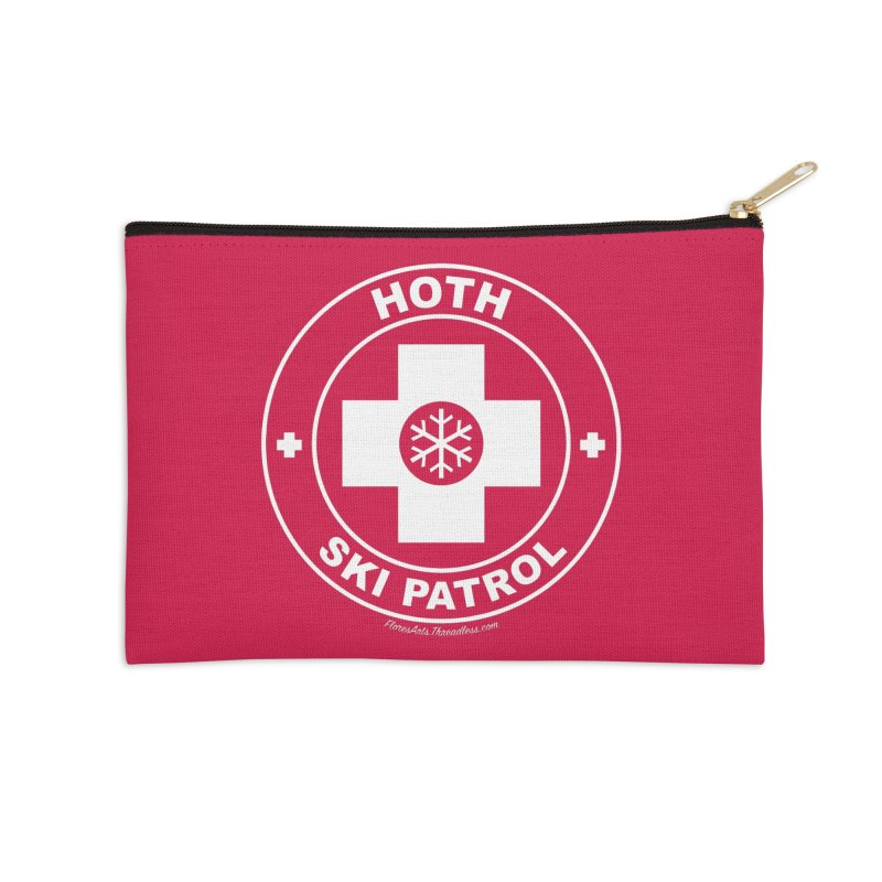 Hoth Ski Patrol Accessories Zip Pouch by FloresArts