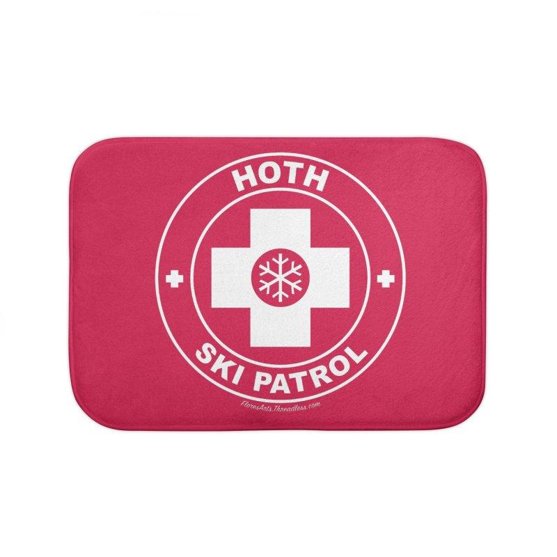 Hoth Ski Patrol Home Bath Mat by FloresArts