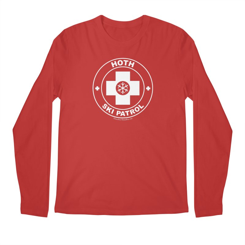 Hoth Ski Patrol Men's Regular Longsleeve T-Shirt by FloresArts