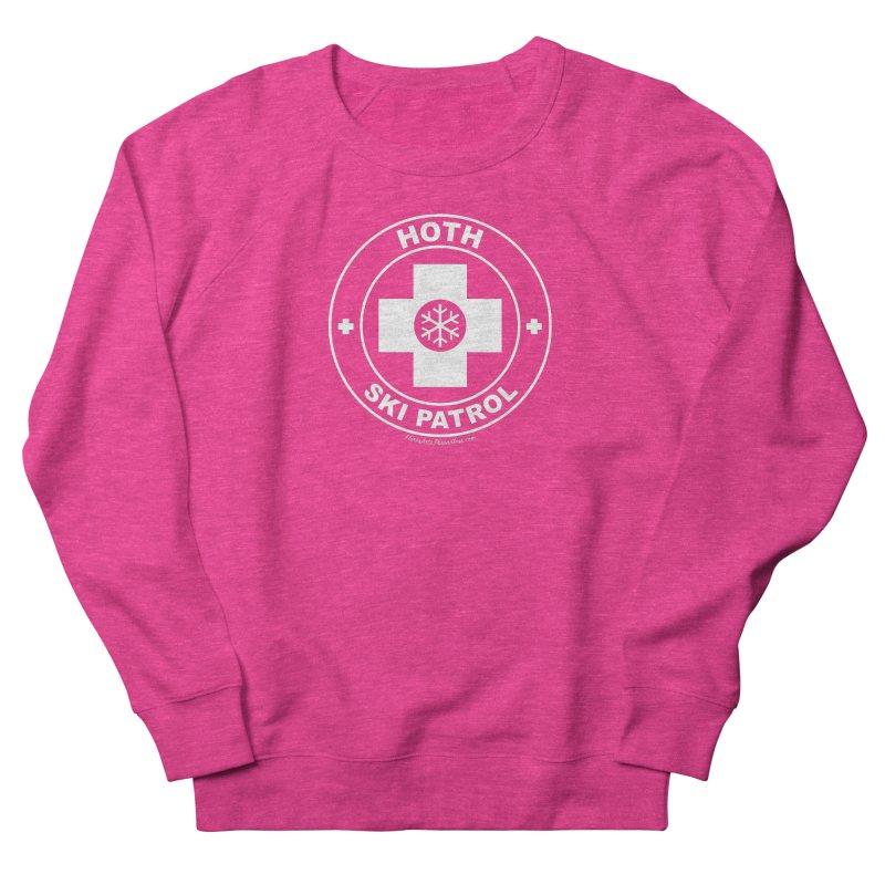 Hoth Ski Patrol Women's French Terry Sweatshirt by FloresArts
