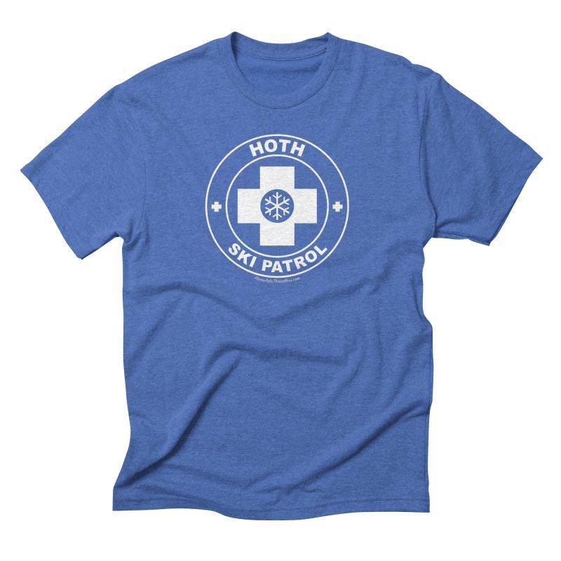 Hoth Ski Patrol Men's Triblend T-Shirt by FloresArts