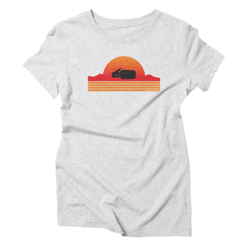 Rey Speeder Women's Triblend T-Shirt by FloresArts