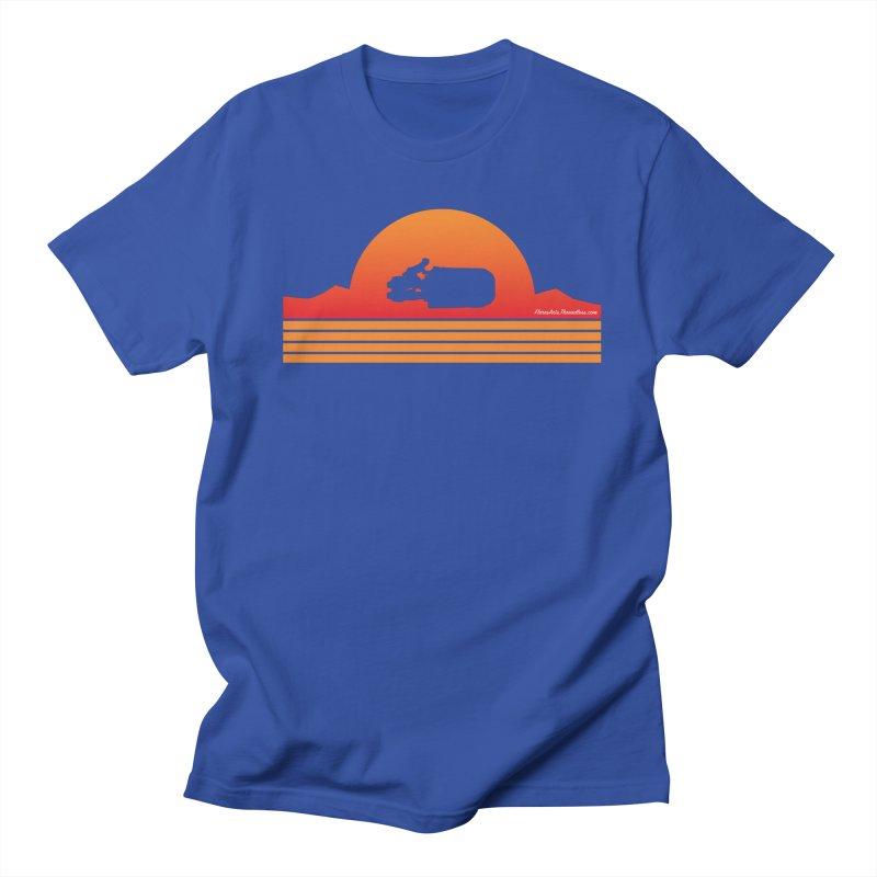 Rey Speeder Men's Regular T-Shirt by FloresArts
