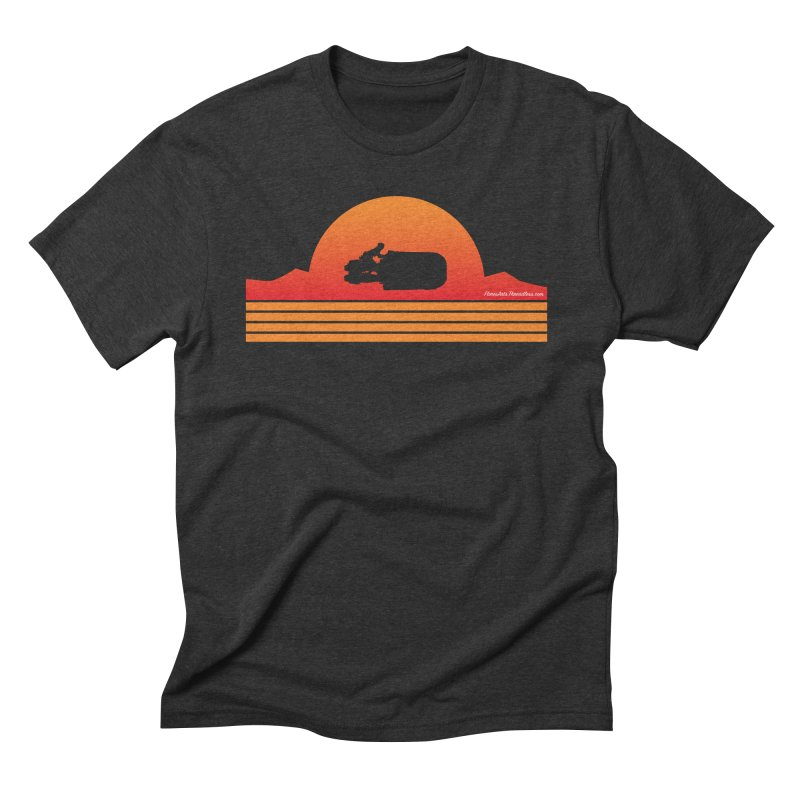 Rey Speeder Men's Triblend T-Shirt by FloresArts