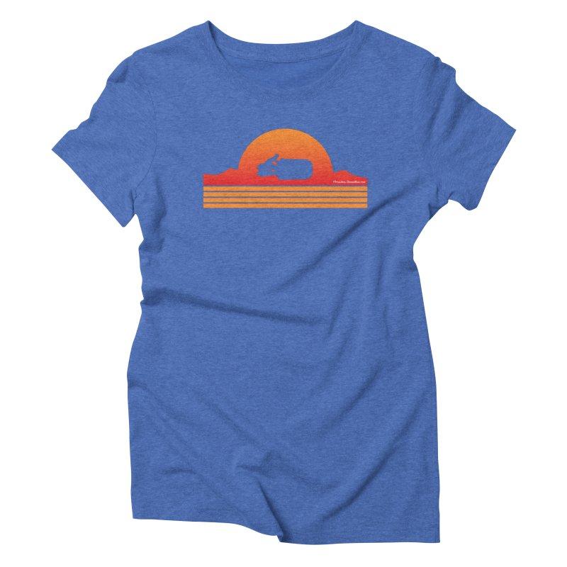 Rey Speeder Women's Triblend T-Shirt by FloresArts